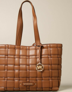Ivy Michael Michael Kors bag in woven synthetic leather