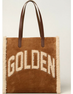 California EastWest Golden Goose bag in suede and wool