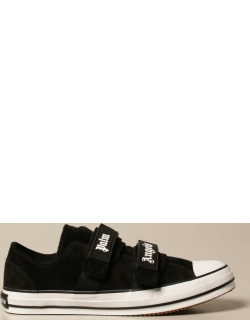Palm Angels sneakers in suede with velcro straps