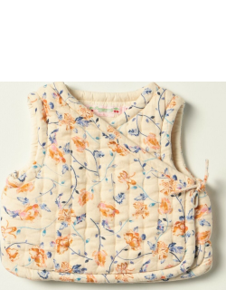 Bonpoint sleeveless jacket with floral pattern