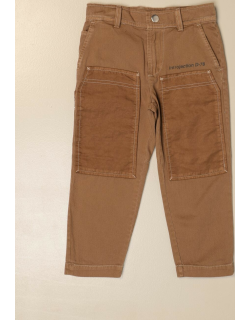 Diesel trousers in cotton with writings