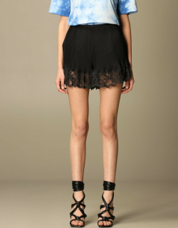 Paco Rabanne pleated shorts