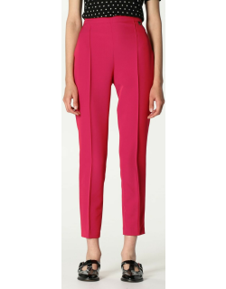 Twinset slim trousers with logo