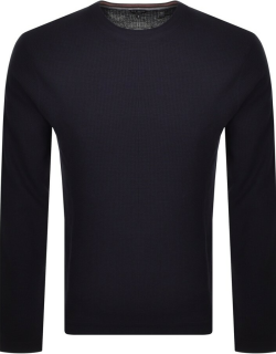 Ted Baker Staylay Crew Neck Jumper Navy