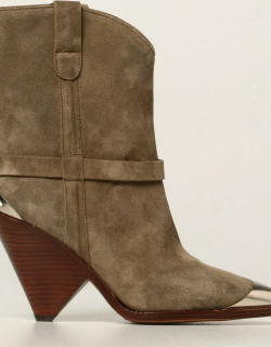 Lamsy Isabel Marant ankle boots in suede