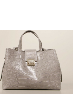 Emporio Armani bag in synthetic leather with crocodile print