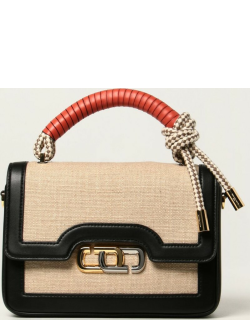 The J Link Marc Jacobs bag in canvas and leather