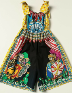 Dolce & Gabbana jumpsuit with graphic print