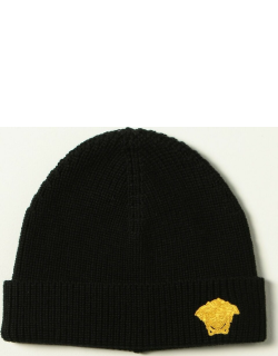Versace Young beanie hat with medusa head