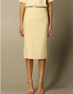 N ° 21 pencil skirt in cotton