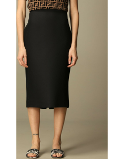 Fendi pencil skirt with back buttons