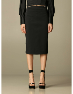Elisabetta Franchi pencil skirt with clamps
