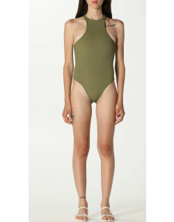 The Attico onepiece swimsuit in opaque stretch fabric