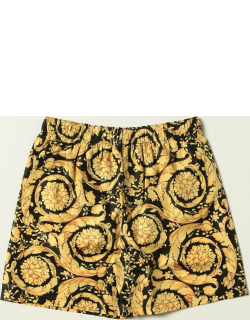 Versace Young boxer swimsuit with baroque print