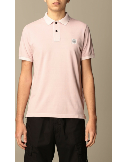Stone Island polo shirt in cotton with logo