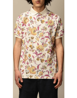 Etro polo shirt in patterned cotton
