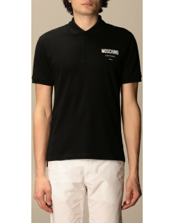 Moschino Couture polo shirt with logo