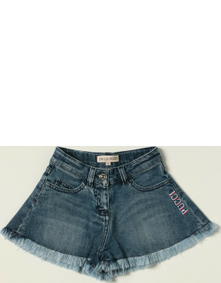 Emilio Pucci jeans shorts with logo