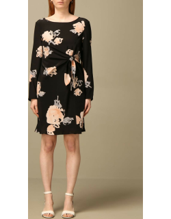 Emporio Armani dress in floral patterned silk
