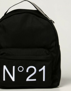 N ° 21 nylon backpack with embroidered logo