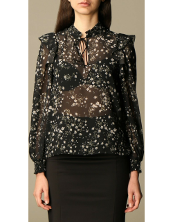 Patrizia Pepe blouse in floral patterned chiffon