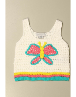 Stella McCartney knit top with butterfly