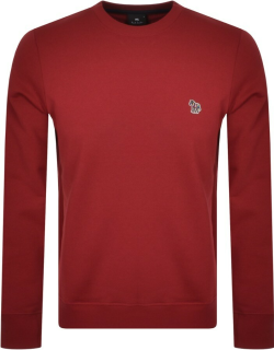 PS By Paul Smith Crew Neck Sweatshirt Red