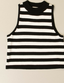 Twinset striped knit top