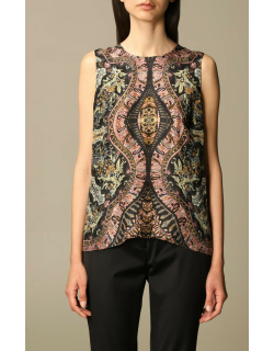 Etro top in patterned silk and viscose blend