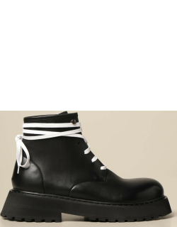 Marsèll laceup ankle boot in leather
