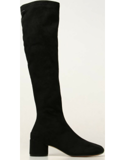 MM6 Maison Margiela boot with suede effect