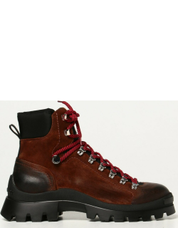 Dsquared2 boots in vintage suede