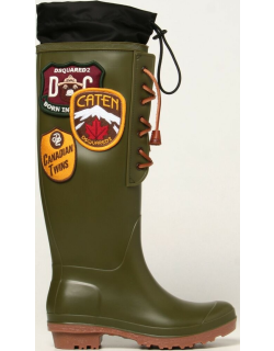Dook Dsquared2 Rubber Rain Boots with path