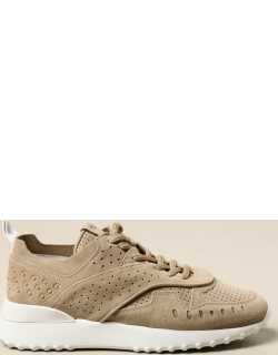 Tod's sneakers in perforated suede