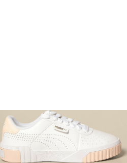 Cali perf wn's Puma sneakers in perforated leather