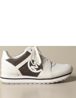 Michael Michael Kors sneakers in monogram canvas and leather