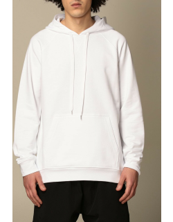 N ° 21 hooded jumper in cotton with back logo