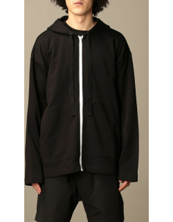 N ° 21 hooded jumper in cotton with logo