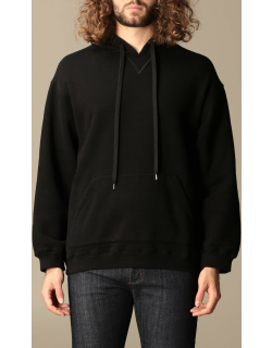 N ° 21 hooded jumper with logo