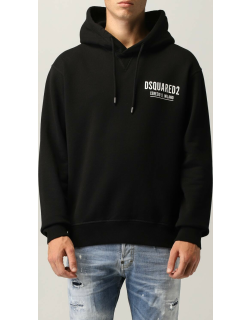 Dsquared2 hooded jumper with logo