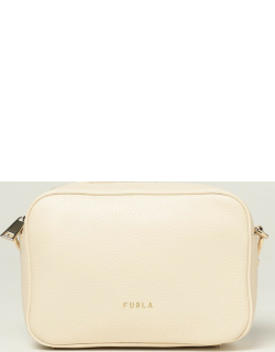 Furla camera bag in grained leather