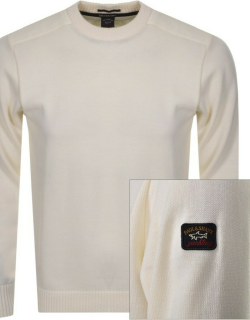 Paul And Shark Knitted Jumper Cream