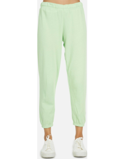 Nate LE Neon Green Crop Jogger - Slime Green XS
