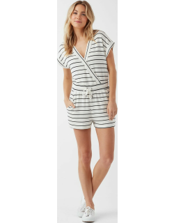Supersoft Shorts Striped Jumpsuit