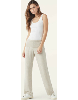 Supersoft With Rib Wide Leg Pants