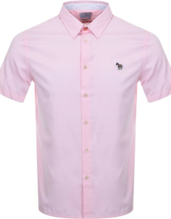 PS By Paul Smith Zebra Short Sleeved Shirt Pink