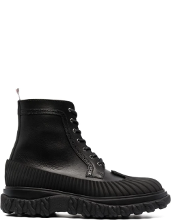 Thom Browne chunky leather ankle boots