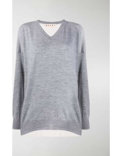 Marni jersey knitted top