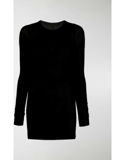 Rick Owens fine knit ribbed top