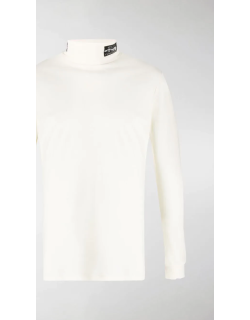 Raf Simons roll neck fitted jumper in fine knit